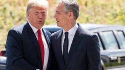 Nato-Generalsekretär zu Besuch bei Trump im Weißen Haus