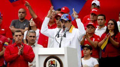 """Venezuelas Machthaber hat """"Nerven aus Stahl!"""": Militärkommandeure sind loyal"""