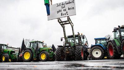 Berlin und Bonn am Dienstag: Bauernprotest mit hunderten Traktoren