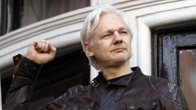 London: Assange droht Botschaftsverweis und Festnahme binnen Stunden oder Tagen
