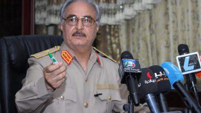 Einheiten von General Haftar melden Einnahme von Sirte im Osten Libyens