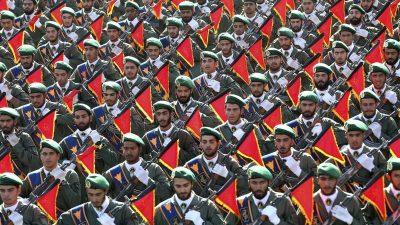 """Staatlicher Terror: Maßnahmen gegen """"Revolutionsgarden"""" des Iran auch in Deutschland gefordert"""