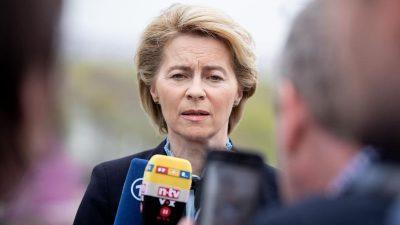 Die eherne Ministerin: Von der Leyen trotz aller Missstände für EU-Posten im Gespräch
