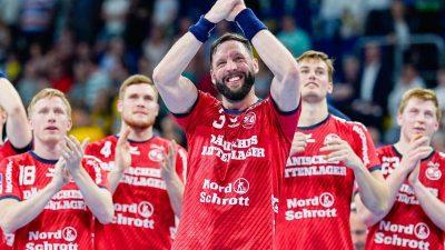 Flensburg bleibt nach Sieg in Mannheim auf Titelkurs