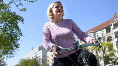 Berliner Verkehrssenatorin will City-Maut für PKWs – CDU kritisiert grünen Kampf gegen Autos
