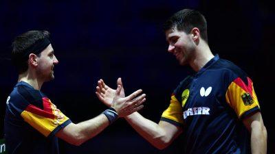 Deutsches Mixed hat Medaille sicher, Doppel im Viertelfinale