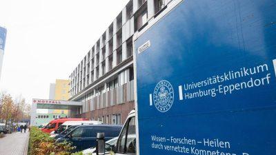 Zwangsmaßnahmen: Psychiatrie-Patient stirbt in Hamburger Uni-Krankenhaus