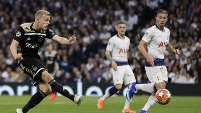 Vor Final-Einzug: Ajax entzaubert auch Tottenham
