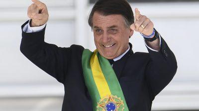 Bolsonaro-Strategie von Gefühl und Härte wirkt: Gewalt in Brasilien deutlich rückläufig