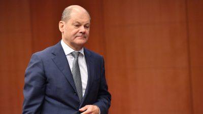 Vize-Kanzler Scholz verteidigt weitgehende Abschaffung des Soli ab 2021