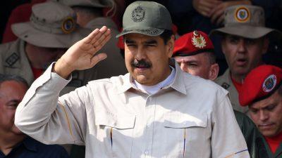 Maduro weist als Reaktion auf EU-Sanktionen Botschafterin aus