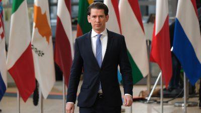 """Spekuliert Kurz auf die absolute Mehrheit? FPÖ wirft Österreichs Kanzler """"Allmachtsfantasien"""" vor"""
