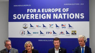 Europawahl: Rechte kann auf zusätzliche Dynamik in der Wahlkampf-Endphase hoffen