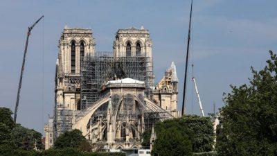 Wiederaufbau bis 2024: Französische Nationalversammlung beschließt Pläne zu Notre-Dame