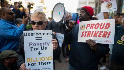 Kurz vor dem Börsengang: Tausende Fahrer von Uber und Lyft streiken in den USA