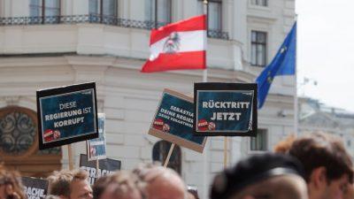 Österreichische Opposition fordert: Alle FPÖ-Minister müssen ihre Ämter abgeben