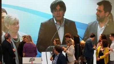 "Trotz Haftbefehl: Kataloniens ""Rebell"" Puigdemont im Exil ins Europaparlament gewählt"