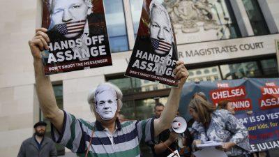 Londoner Gericht soll am Montag über Haftentlassung von WikiLeakks-Gründer Julian Assange entscheiden