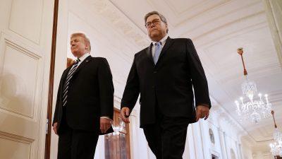Trump ermächtigt Generalstaatsanwalt Barr zur Freigabe von Dokumenten der Spygate-Affäre