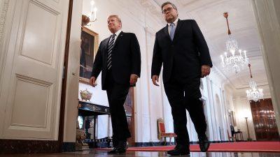 Panik in Washington: Freigabevollmacht für Generalstaatsanwalt Barr lässt Medien und Politiker erschauern