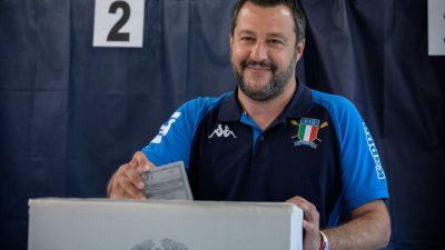 NEWSTICKER EU-Wahl: EU-kritische Brexit-Partei in Großbritannien bei 31,5 Prozent – In Italien siegt Salvinis Partei, in Österreich die ÖVP