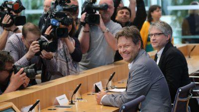 "Kanzlerkandidat Habeck? – Was wird dann aus dem ""Wünsch-Dir-Was-Weltverbesserer-Wohlfühl-Bonus"" der Grünen?"