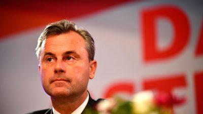 """""""Im Mai neu bewerten"""": Hofer lässt Hintertür für FPÖ-Eintritt in Regierung offen – Opfert er Kickl?"""