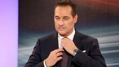 """""""Bevölkerungsaustausch"""": Strache lässt in Zeitungsinterview """"böses"""" Wort fallen"""