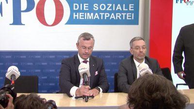 FPÖ steht auch ohne Strache vor dem Machtkampf: Möglicher Showdown zwischen Hofer und Kickl