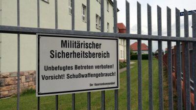 Bundeswehr-Angestellter wegen Spionage für iranischen Geheimdienst angeklagt