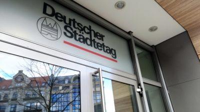 """Städtetag fordert """"klare Perspektive"""" für Lockerung statt Pauschalaussagen über """"forsches"""" Vorgehen"""