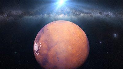 War der Rote Planet früher blau? – Nachweis von 4 Milliarden Jahre altem organischen Mars-Stickstoff