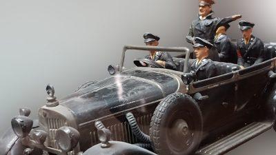 """Nazi-""""Verschwörung"""" in Bautzen? Ehemaliger Flüchtling fuhr mit """"Hitler-Auto"""" herum"""