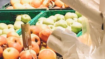 Aldi schafft kostenlose dünne Plastikbeutel für Obst und Gemüse ab – 1-Cent-Alternative
