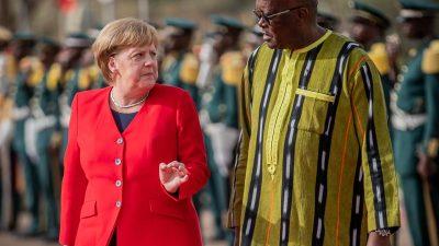 Merkel sichert Sahel-Ländern weitere Hilfen zu – 1,7 Milliarden Euro in vier Jahren