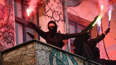 Verfassungsschutz beobachtet Radikalisierung im Linksextremismus – Politiker unterstützen entsprechende Gruppierungen