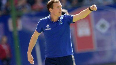 Nach Debakel: Kein Bekenntnis mehr zu HSV-Trainer Wolf