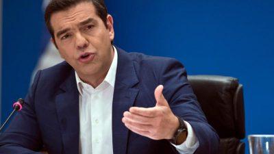 Parlament stimmt über Vertrauensfrage von Tsipras ab