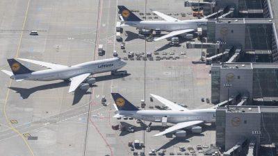 Verspätungen am Frankfurter Flughafen wegen zu wenig Bodenpersonal