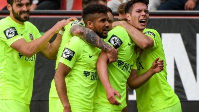 Sieg in Ingolstadt: Wehen Wiesbaden steigt in 2. Liga auf