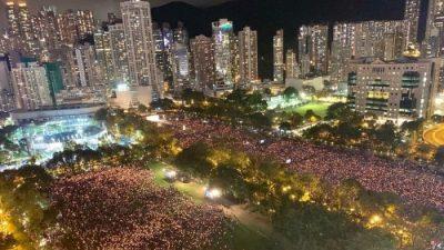 Pekings Tiananmen-Massaker: Hongkonger Polizei verbietet erstmals seit 30 Jahren Tiananmen-Mahnwache