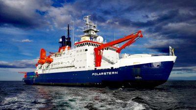 Antarktissaison beendet: Polarstern in Bremerhaven eingetroffen