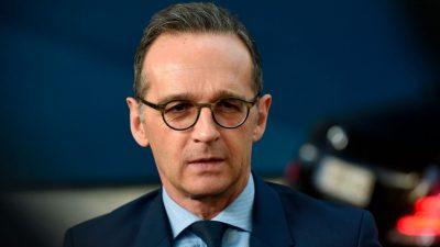 Maas will EU-China-Gipfel bis Jahresende nachholen