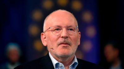 """EVP-Kreise: Deal um Timmermans als Juncker-Nachfolger """"tot"""" – konservative Regierungschefs dagegen"""