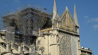 Zum ersten Mal seit mehr als 200 Jahren keine Weihnachtsmesse in Notre-Dame