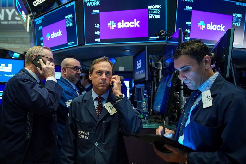 """WORK"": Bürochat-App Slack startet fulminant an der New Yorker Börse – 50 Prozent Plus"