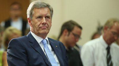 Alt-Bundespräsident Wulff schlägt 23. Mai als Nationalfeiertag vor