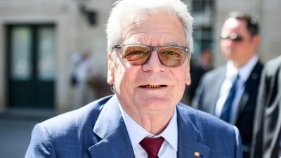Späte Erkenntnis: Joachim Gaucks Plädoyer für mehr Toleranz in Richtung rechts