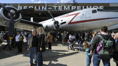 Fest in Berlin zu 70 Jahre Luftbrücke muss ausfallen – aus gesetzlichen Gründen