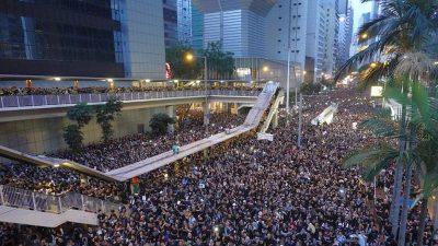 Massenproteste in Hongkong – Keine Angst mehr vor der KP-China